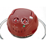 HALOGEN OVEN LID RED
